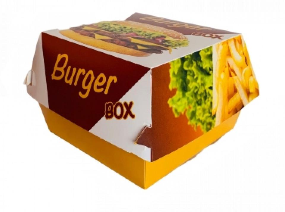 Hamburger box colorat
