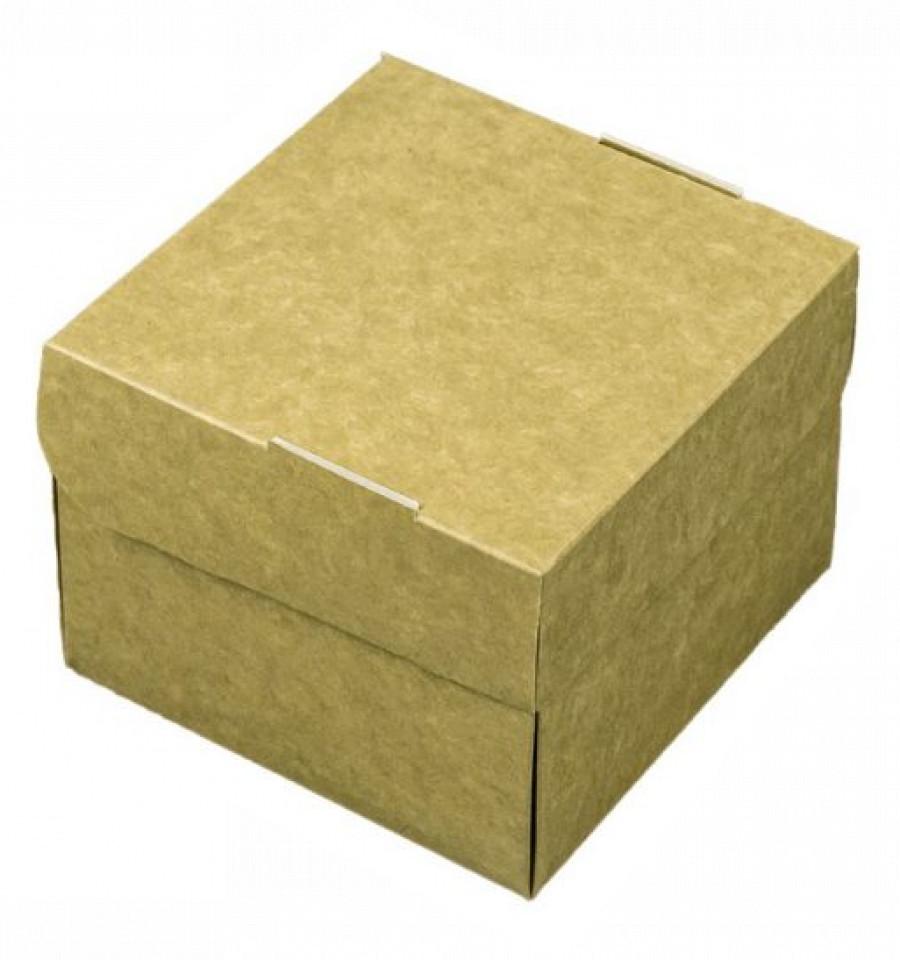Hamburger box patrata