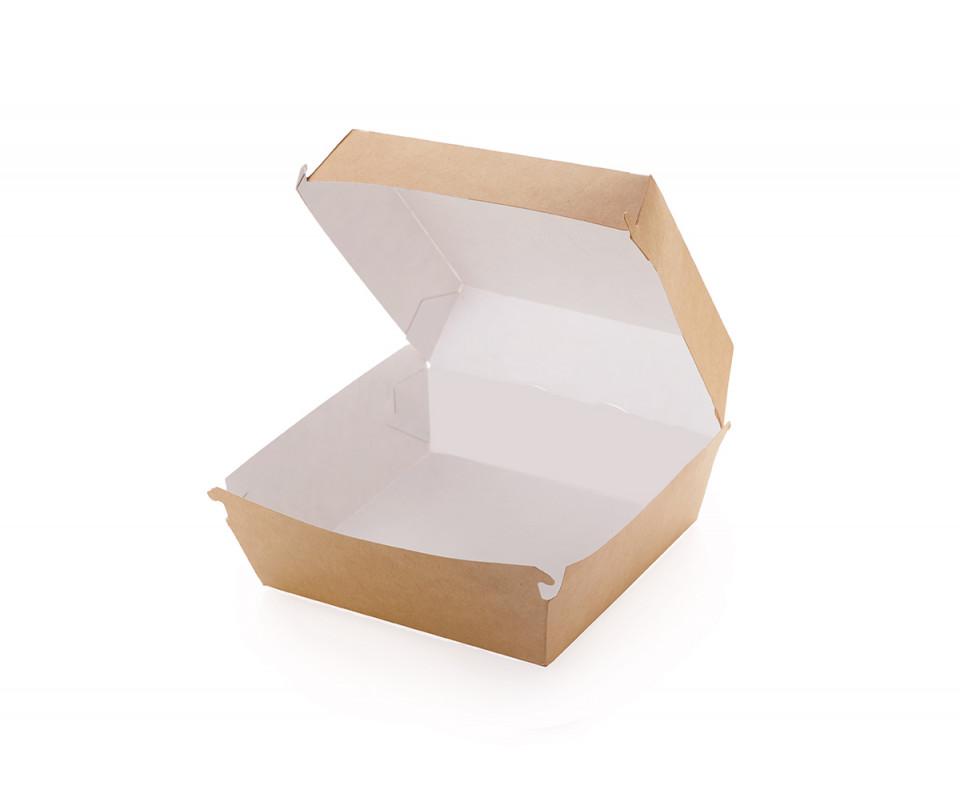 Hamburger box kraft
