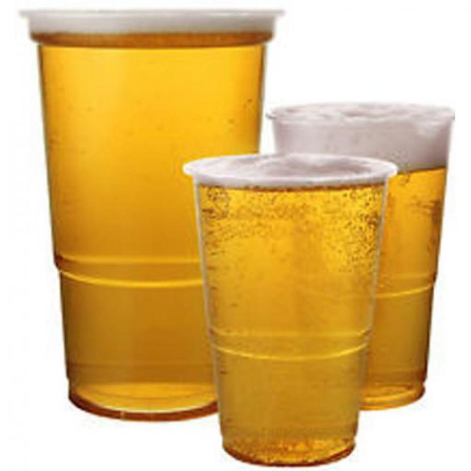 Pahare bere, transparente